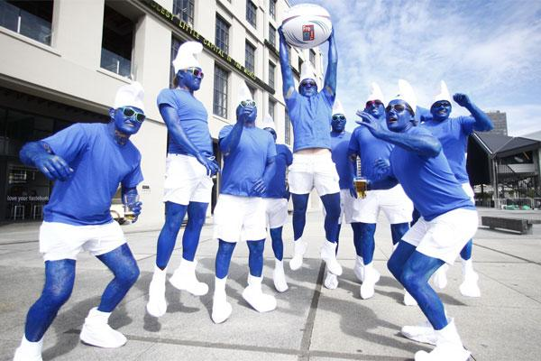 The Smurfs from Marlborough.