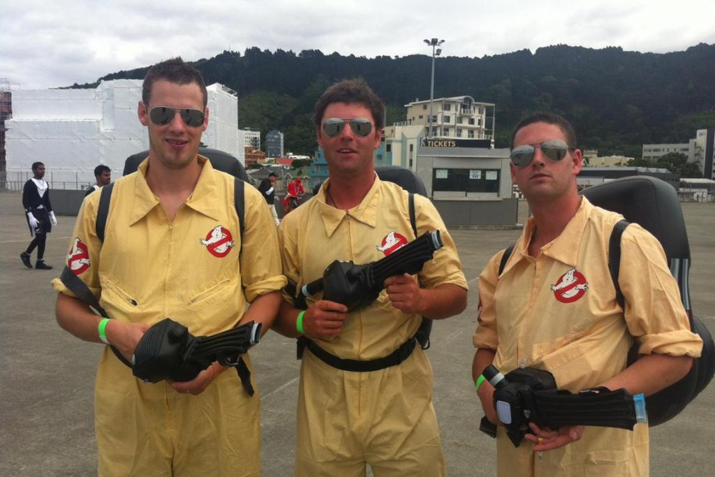Ghostbusters from Dunedin.