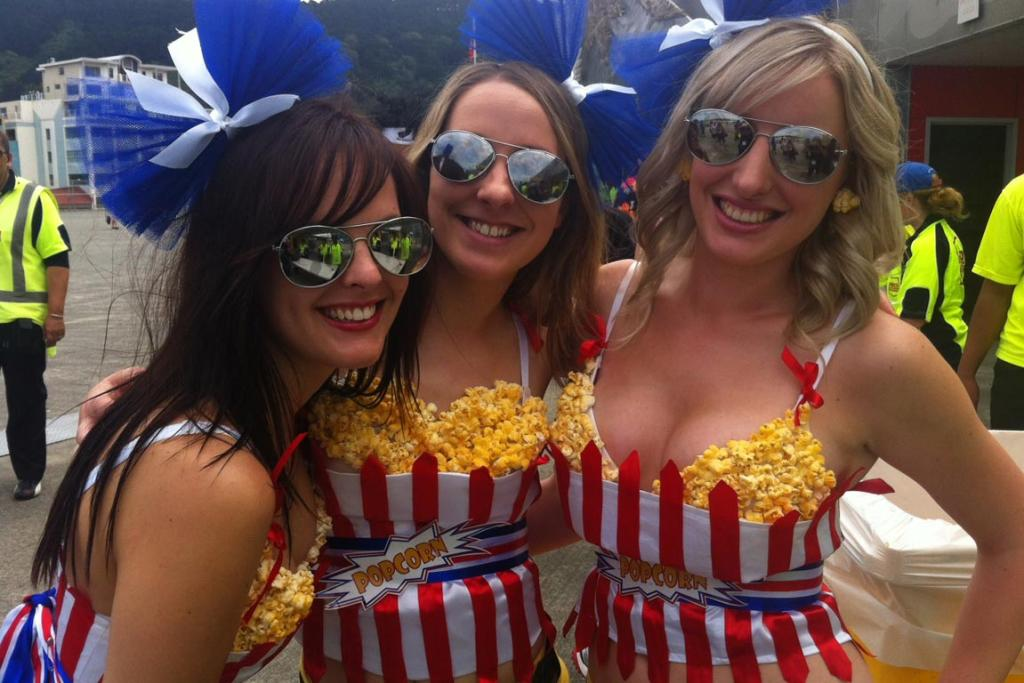 The popcorn girls from Wellington.