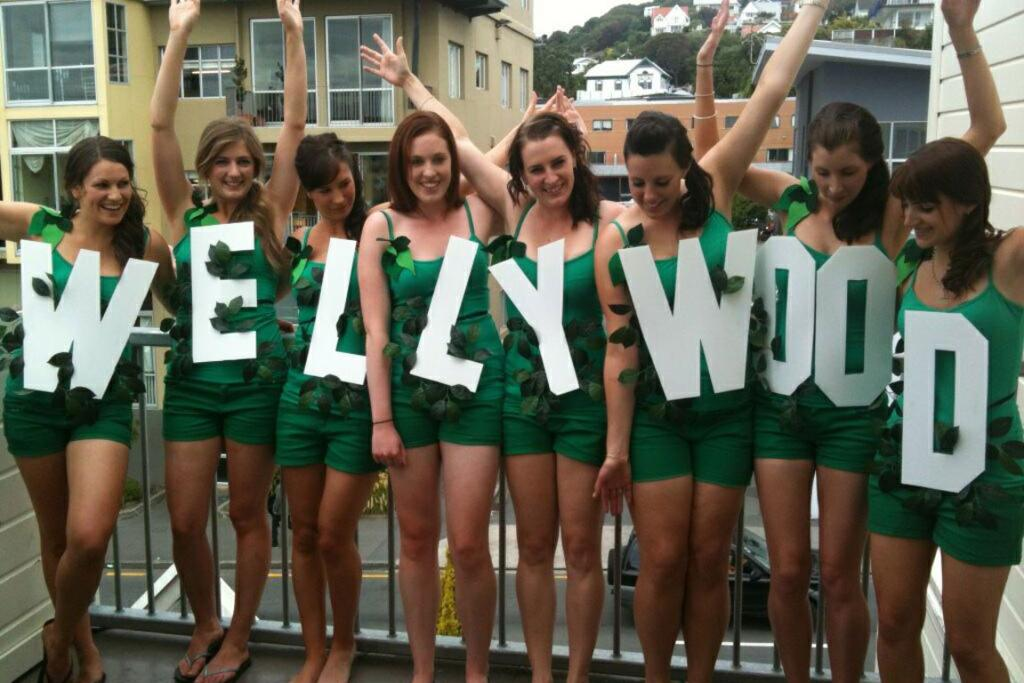 Wellywood, from Wellington.