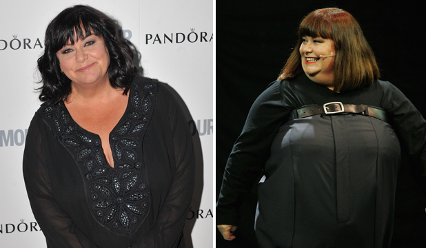 BRIGHT NEW DAWN: Dawn French, who weighed 127kg at her heaviest, has lost more than 45kg but says she misses her old body.