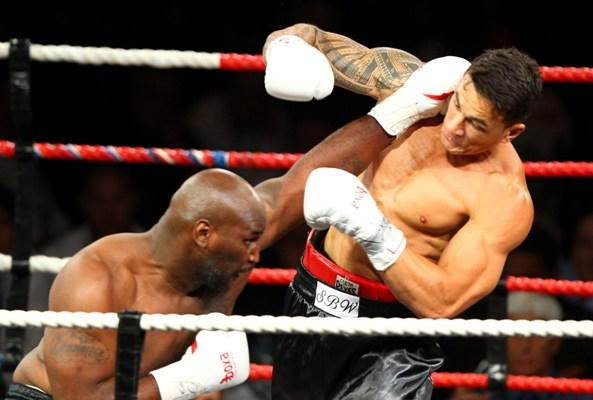 Tillman KO'd by Sonny Bill Williams in first round.