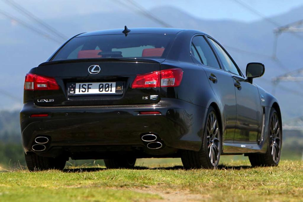The Lexus IS-F Red Edition.