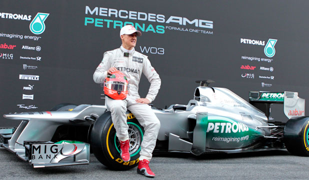 Michael Schumacher Likes Look Of New Mercedes Stuff Co Nz