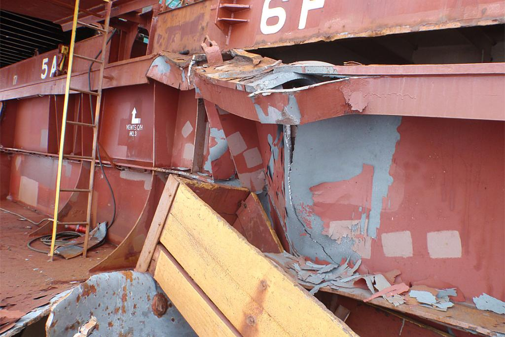 DEFORMED: Damage to the Rena's structure.