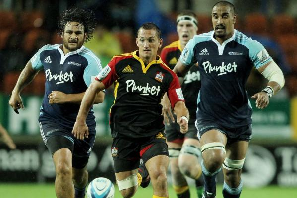 Piri Weepu, Aaron Cruden and Jerome Kaino