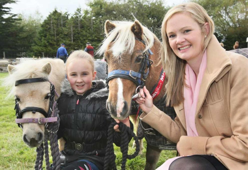 SOUTHLAND A & P SHOW: Brooke Kincaid, 11, and Barbie the pony with Dubbo showgirl Kate Warren and Shevey at the Southland A&P Show at Donovan Park, Invercargill.