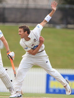 ARMED FOR ND: The Knights have regained the services of Brent Arnel for tomorrow's Plunket Shield clash against the Wellington Firebirds after he became surplus to the Black Caps' requirements.