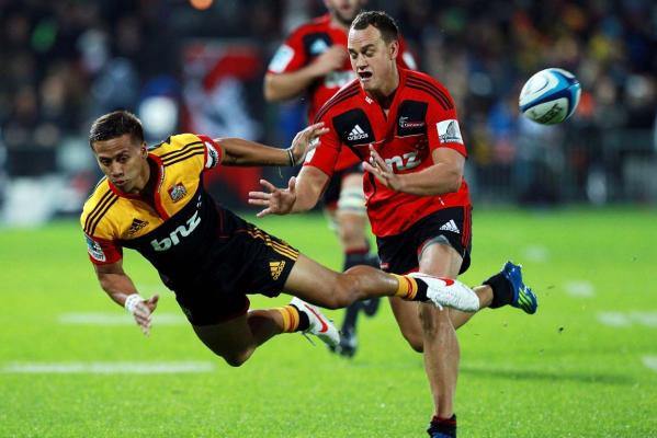 Tim Nanai-Williams and Israel Dagg