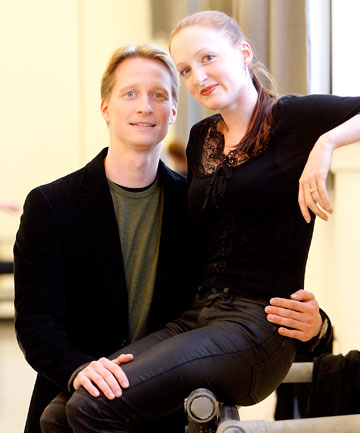 ROYAL STARS: Ethan Stiefel, artistic director of the Royal New Zealand ballet, and his fiancee and guest principal dancer Gillian Murphy.