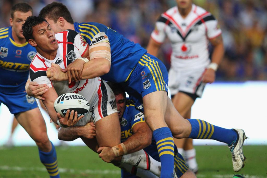 Warriors v Parramatta, round two