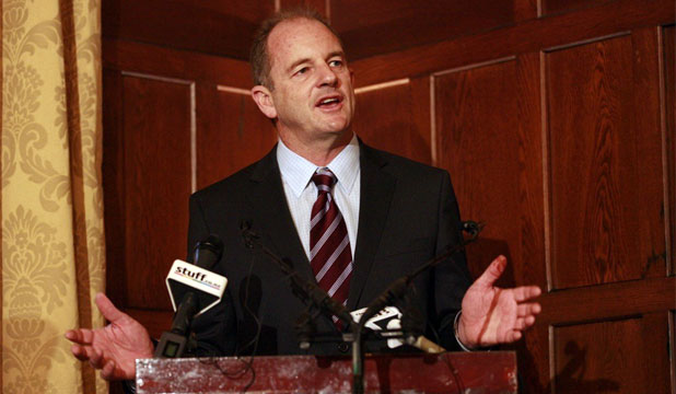 BREAKFAST TALK: Labour's David Shearer makes his first big address as leader of the party this morning.