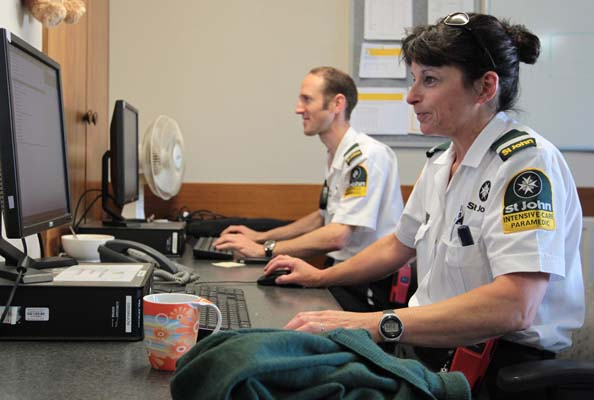 Day in the Life of St John Ambulance