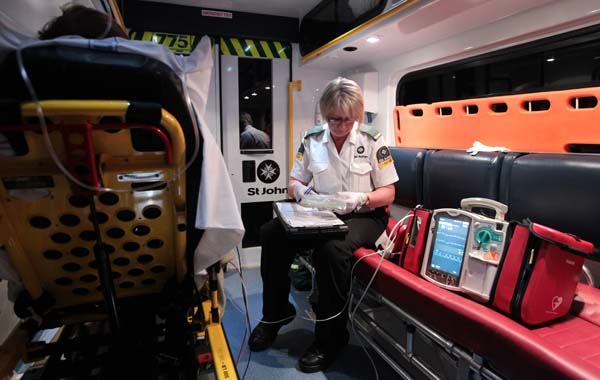 Day in the Life of St John Ambulance.