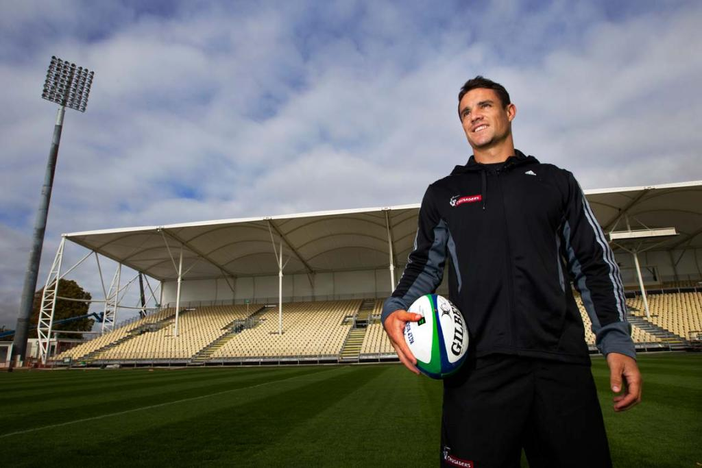 Dan Carter could be back in the Crusaders' starting lineup when they host their home opener at their temporary stadium.