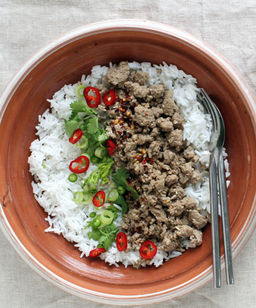 PORK LARB: It takes less than 10 minutes, making it a winner in any busy household, and it is filled with flavour.