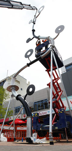 INSULTING: Why did Hamilton City Council get an Auckland artist to produce its sculpture in Garden Place?