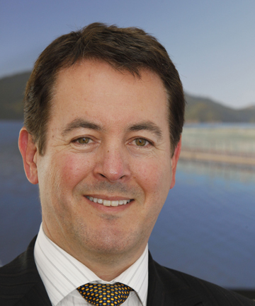 New Zealand King Salmon chief executive Grant Rosewarne