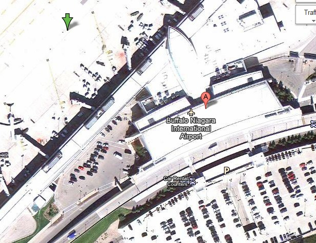 Buffalo Niagara International Airport - Google Maps image