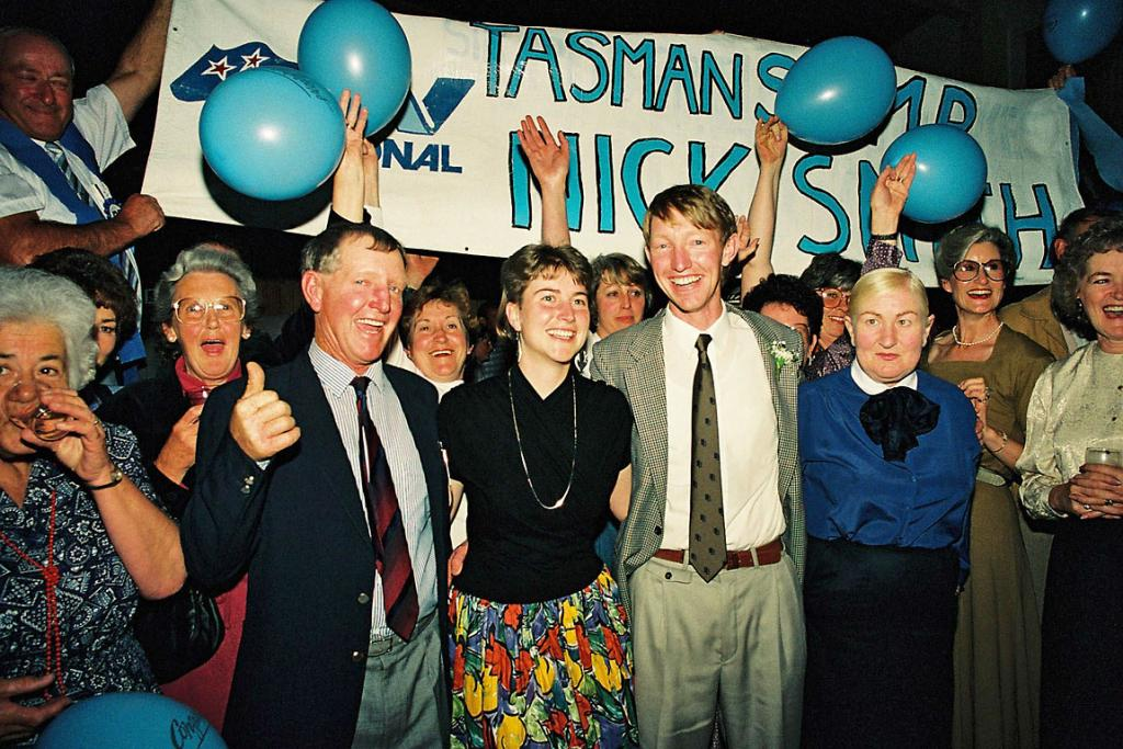 Nick Smith Election Night 1990
