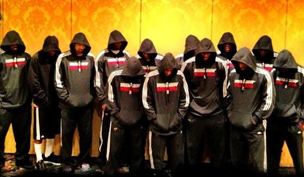 PROTEST: LeBron James posted this picture on his Twitter account.