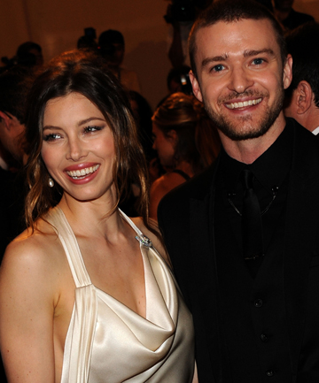 HAPPY TIMES: Jessica Biel and Justin Timberlake are planning a big wedding.