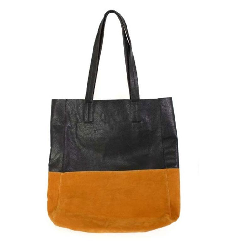 Tote bag, $69.90 from Lippy. More of the block colour trend. This bag is nice and oversized for fitting all my junk.