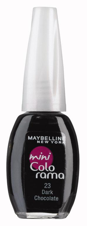 Maybelline New York Nail Polish in Dark Chocolate, $8.49. There's nothing I like better than a yummy deep nail colour. I love this chocolatey hue.