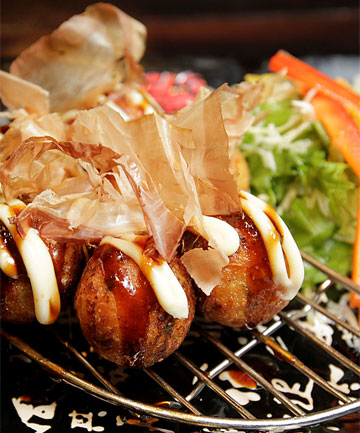 TAKOYAKI: Well worth a try.