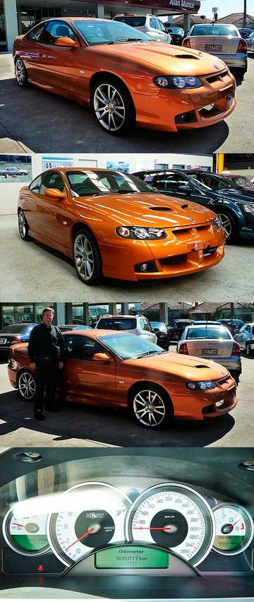The real 'last Monaro' is finally sold | Stuff co nz