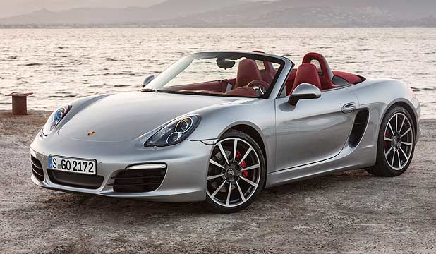 NEW BOXSTER: Porsche's best all-round car is bigger, quicker and much more muscular-looking than its predecessors.