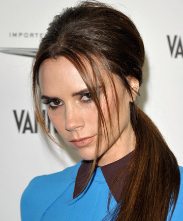 DOING HER HOME WORKOUT: Victoria Beckham has apparently installed a state-of-the-art home gym.