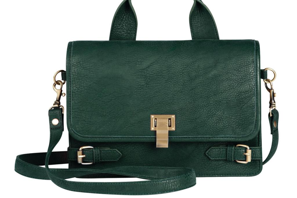 Saben Says bag, $59.99 from The Warehouse. I'm a big fan of the Saben Says range. With designer bags usually costing upwards of $300, you get the style without the hefty price tag. And green is such a nice change from boring black!