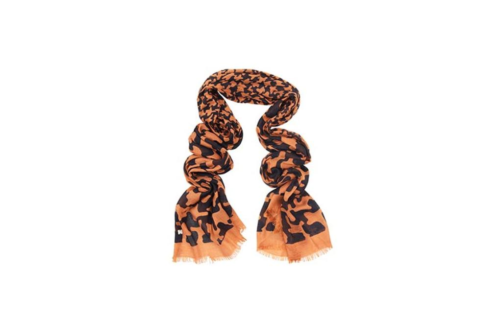 Marcs scarf, $69. I love scarves for adding a splash of colour to an outfit.