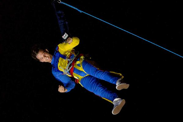 One Direction Sky Tower jump