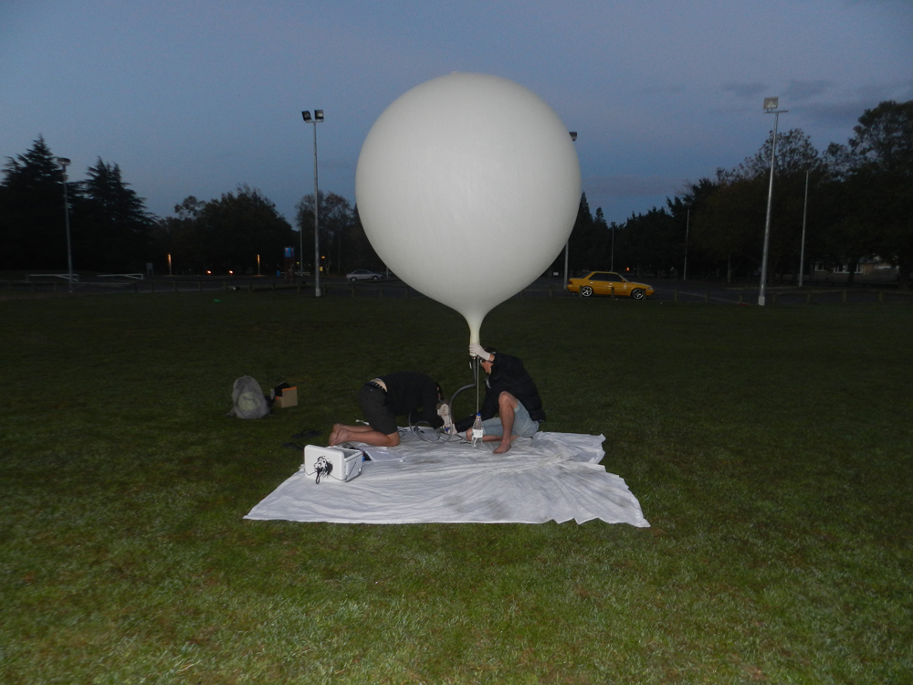 Weather balloon photos