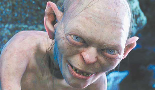 MY PRECIOUS: Gollum from Lord of the Rings
