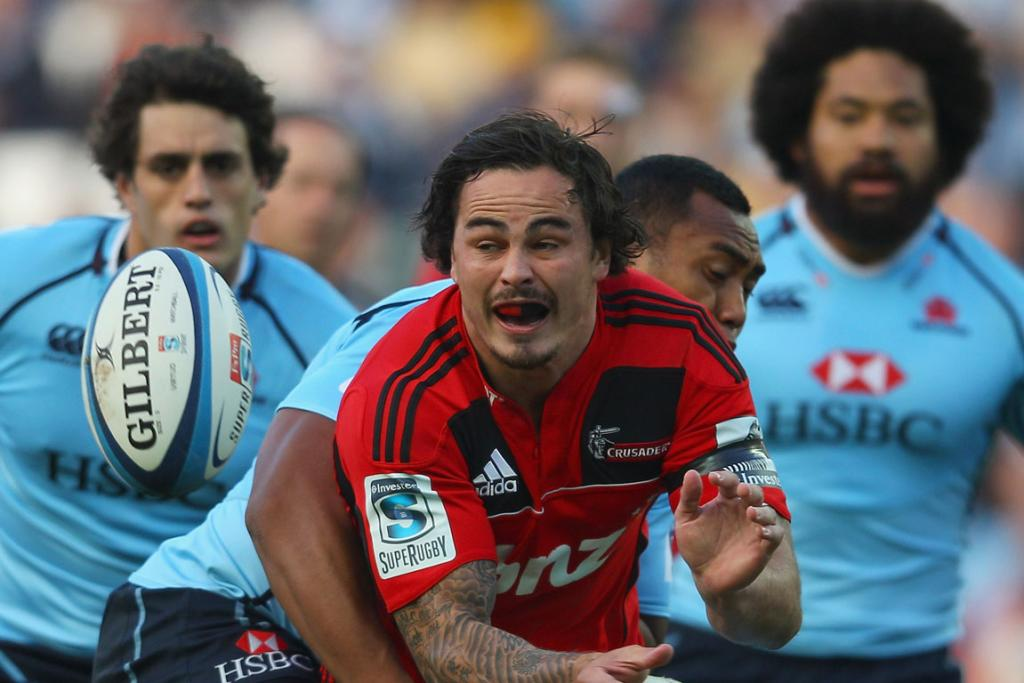 Crusaders v Waratahs in Sydney