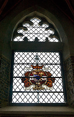 Cranmer - stained glass window