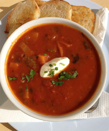 Recipe mexican bean soup for Mexican fish soup recipe