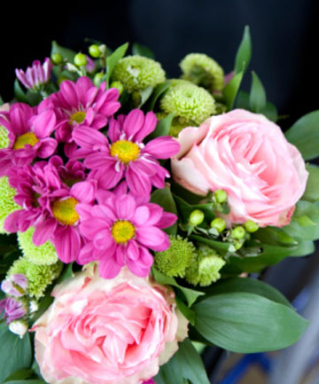 SPLASH OF COLOUR: Flowers can brighten the ward significantly.