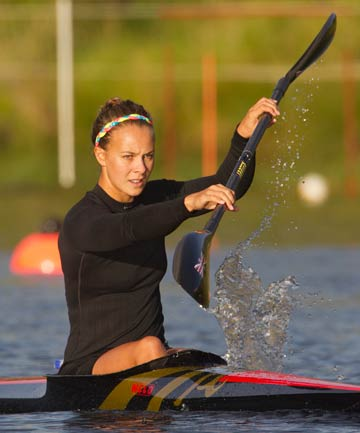 STROKE OF LUCK: Lisa Carrington has the advantage of the K2 before her favoured event.