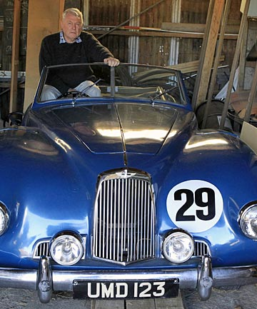 Colin Gordon wants to sell his rare Aston Martin to pay his rates debt.