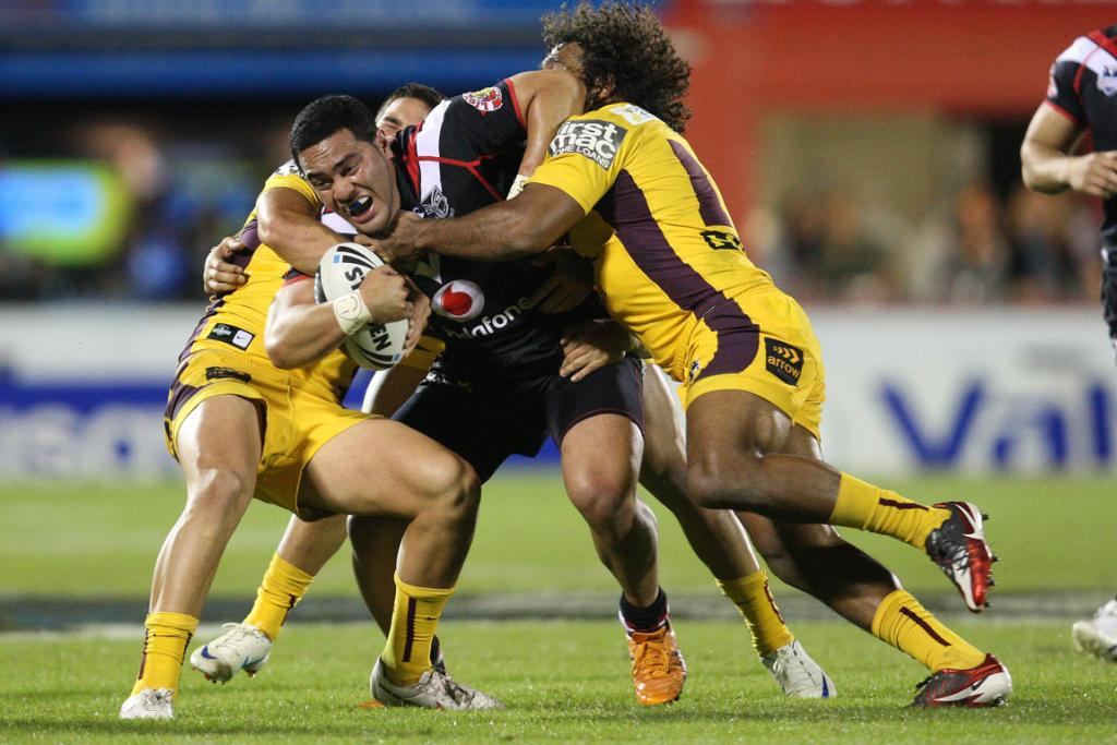 Warriors v Storm