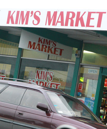 Kim's Market in New Brighton.