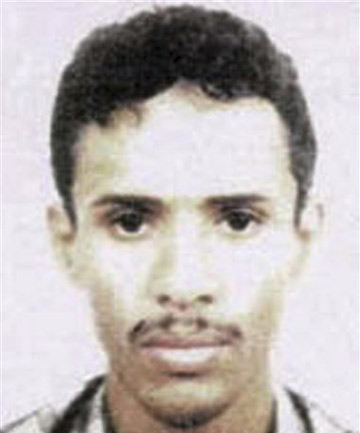 An FBI file photo of Fahd al-Quso said to have beenkilled in an airstrike in the southern Shabwa province of Yemen.