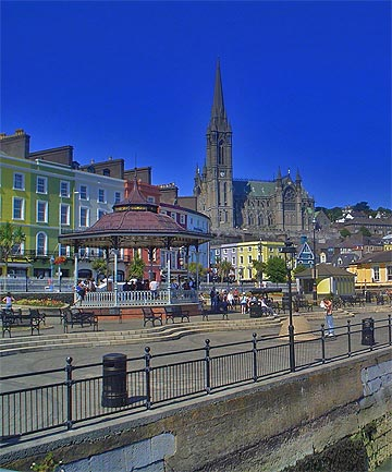 PRIDE OF COBH: St Colman's Catholic Cathedral at Cobh has an unusually tall carillon of 49 bells.