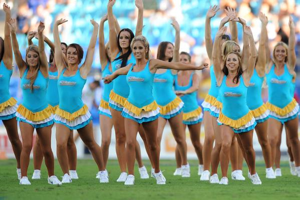 NRL cheerleaders