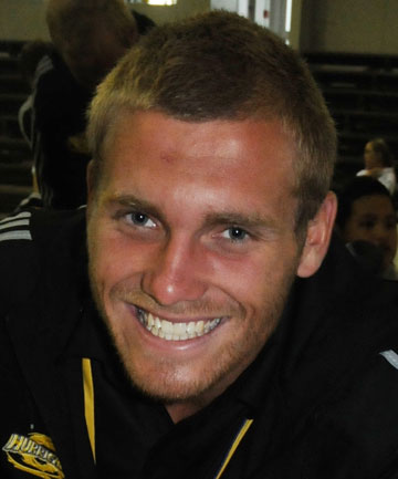 NEW ALL BLACK: Brad Shields has been called into the All Blacks training squad.