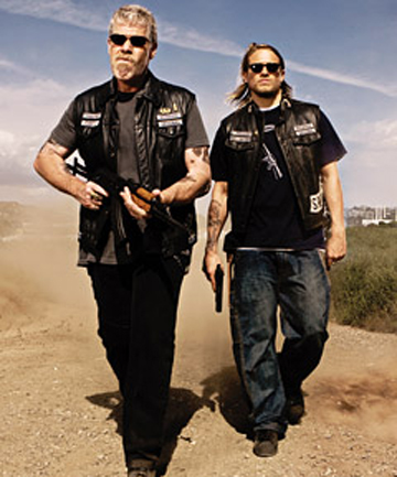 Clay and Jackson from Sons of Anarchy